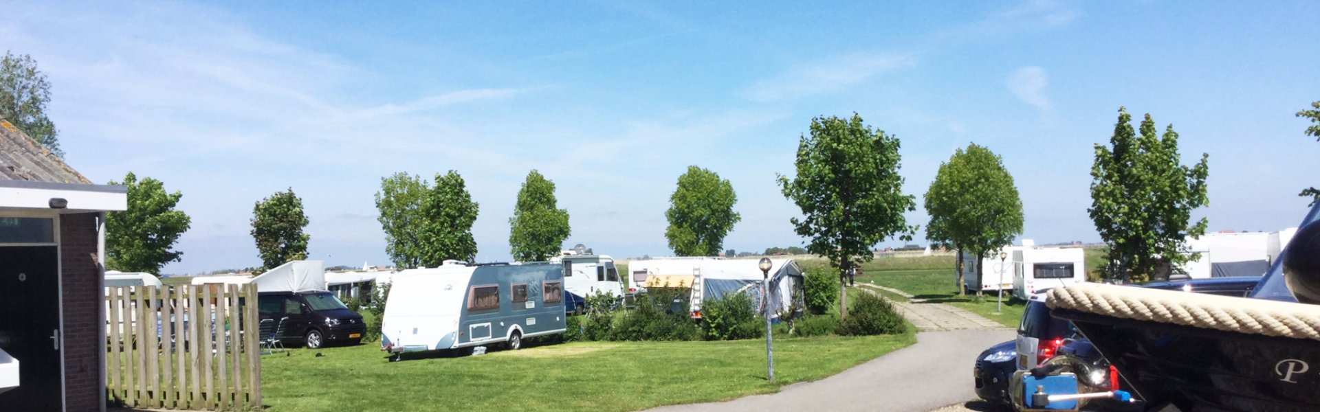Camping in Friesland